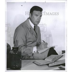 1958 Press Photo Scott Brady American Film Actor Gerard - RRT99821