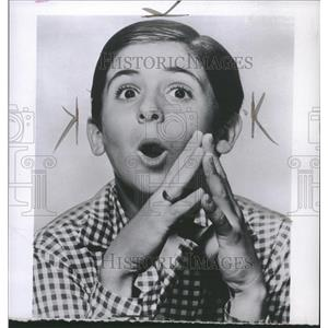 1953 Press Photo Richard Monda Eddie Cantor Story - RRT49143