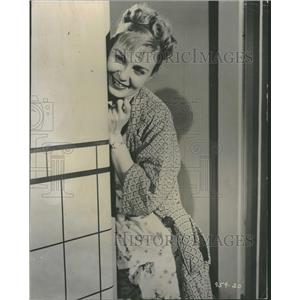 1957 Press Photo Joanne Woodward Actress Three Faces - RRT75855