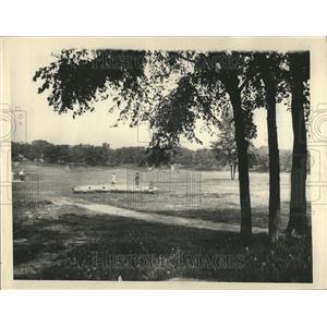 1927 Press Photo Edgebrook Golf Course Illinois - RRT30381
