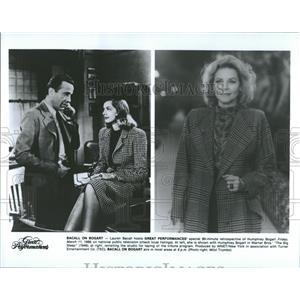 1988 Press Photo Lauren Bacall 1944 Humphrey Bogart - RRT74197