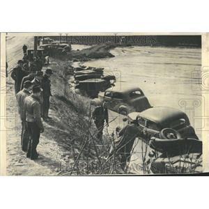 1941 Press Photo lehigh Bethlehem Automobiles Lehigh