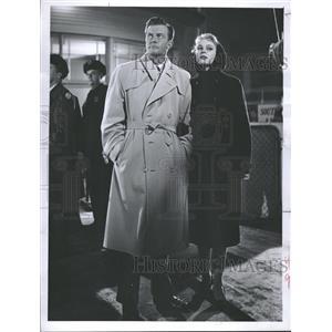 1958 Press Photo Actors William Lundigan, Betsy Palmer - RRT70777