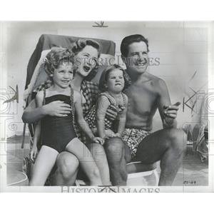 1953 Press Photo Robert Cummings Actor - RRT57837
