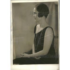 1927 Press Photo Mrs. Leland Harrison American Minister - RRT50071