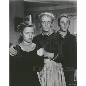 1951 Press Photo Olive Carey American Film Actress - RRT66231