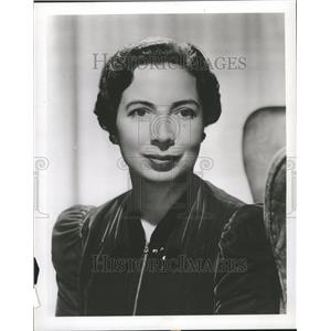 1952 Press Photo Sara Haden Film Role Actress - RRT06497