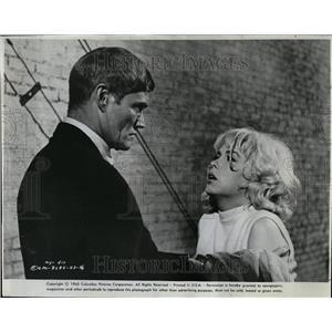 1965 Press Photo Chuck Connors Synanon Stella Stevens