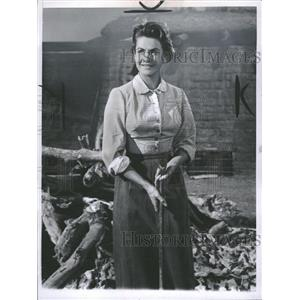 1959 Press Photo Nicole Maurey French Actress - RRT49503