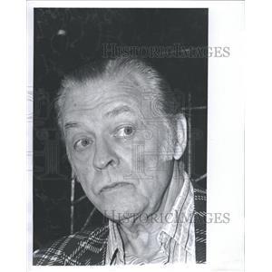 1974 Press Photo Lyle Talbot American Actor Randolph - RRT88645