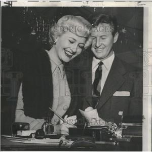 1950 Press Photo Marilyn Maxwell Actress - RRT03373