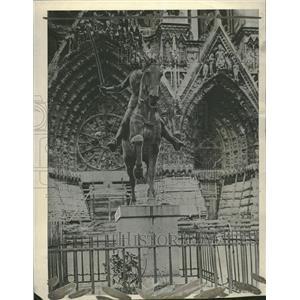 1908 Press Photo Statue of Joan of Ark - RRT60599