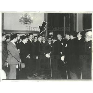 1934 Press Photo General Cardenas National Paloma - RRT56245
