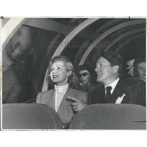 1949 Press Photo Virginia Mayo Michael O'Shea - RRT72829