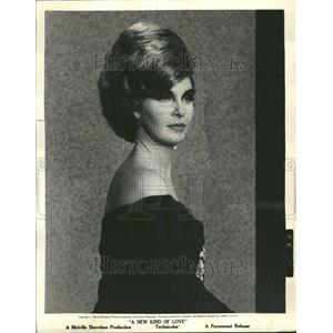 1963 Press Photo Joanne Woodward Actress Producer Love