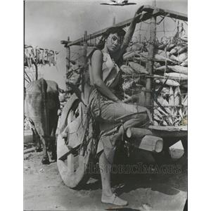 1955 Press Photo Rita Moreno Singer Dancer Actress - RRT67643