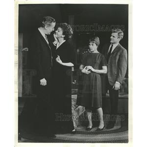 1963 Press Photo Whos Afraid of Virginia Woolf Play