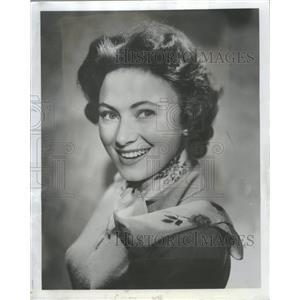 1955 Press Photo Marion Ross American Film TV Actress - RRT81911