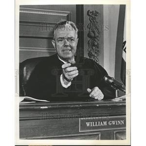 "1958 Press Photo Actor William Gwinn TV Show ""Accused"" - RRT06449"