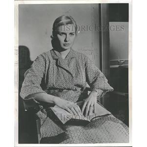 1957 Press Photo Joanne Gignilliat Trimmier Woodward - RRT75835