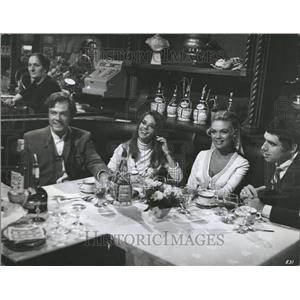 1969 Press Photo Bob & Alice Ted & Carol - RRT11907