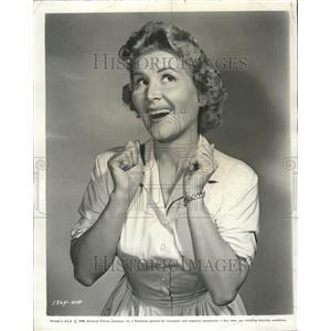 1958 Press Photo Marie Curley Actress - RRT03203