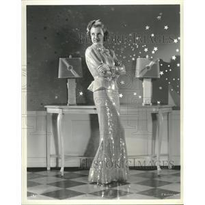 Press Photo Glamour shot of Joy Hodges - RRT70507