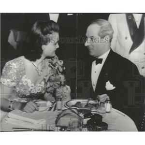 1940 Press Photo Comedian George Jessel & Lois Andrews - RRT73561