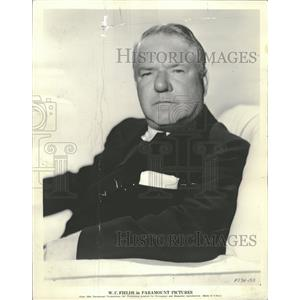 Press Photo W.C. Fields Paramount Back Porch Actor - RRT69219