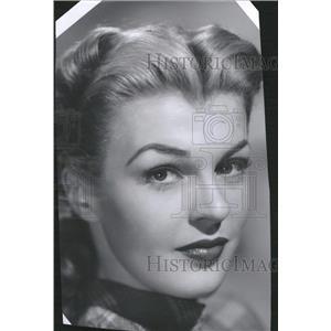 1947 Press Photo Peggy Knudsen Formerly Duluth - RRT61827