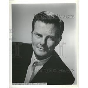 1956 Press Photo William Lundigan american film actor - RRT70773