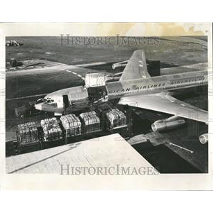 1964 Press Photo Cargo Airplane - RRT23373