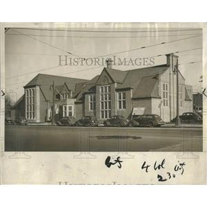 1940 Press Photo New Library Opens Washington's Birthda