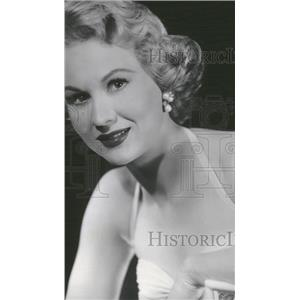 Undated Press Photo Virginia Mayo American Film Actress. - RRT61751