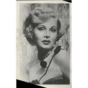 1958 Press Photo Zsa Zsa Garbor Actress - RRT68023