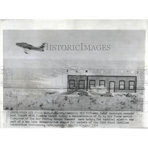 1956 Press Photo US Air Force Aerial Command Target