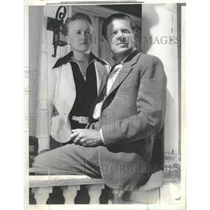 1937 Press Photo Bob Burns Harriet Foster Romance - RRT65481