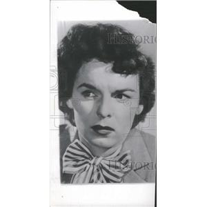 1950 Press Photo Actress Mercedes M'Cambridge - RRT66753