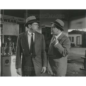 1958 Press Photo Mickey Shaughnessy Tom Ewell - RRT24329