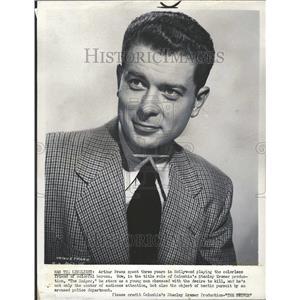 1952 Press Photo The Sniper Film Actor Arthur Franz - RRT07259