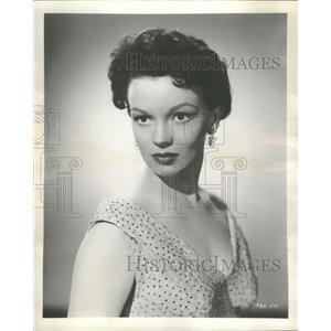 1957 Press Photo Joan Evans actress - RRT63867