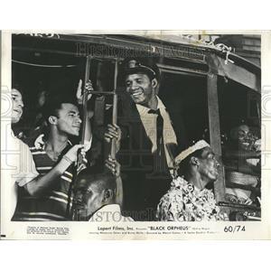 1960 Press Photo Black Orpheus Marpessa Dawn Breno