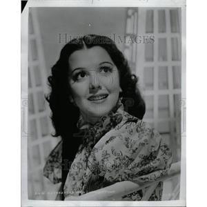 1953 Press Photo Ann Rutherford - RRT34405