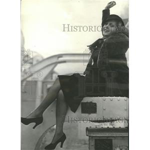 1933 Press Photo Ketti Gallian Flickered in French Film - RRT65343