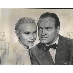 1956 Press Photo Bob Hope & Eva Marie Saint Close Up - RRT71941