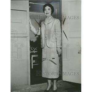 1955 Press Photo Lillian Diana Gish American Actress - RRT87057
