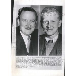 1952 Press Photo Dr Richard Kuhn Chemist Nobel Prize - RRT43657