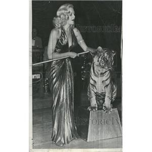 1954 Press Photo Actress Marilyn Maxwell Frontier Hotel - RRT70497