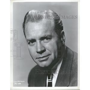 1955 Press Photo Lyle Bettger character actor hollywood - RRT80831