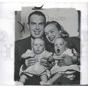 1956 Press Photo Fred & Katie MacMurray - RRT84007